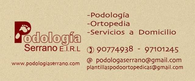 Podologia serrano e.i.r.l, atencion integral y asesorias en afecciones ungueales