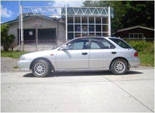 Vendo subaru impresa station wagon año 1993