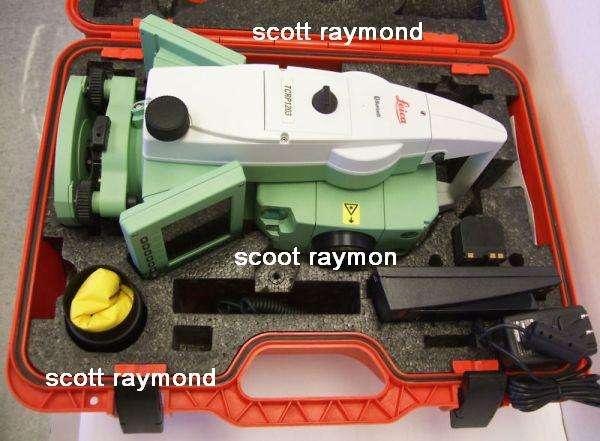 Vende la estación robótica leica tcrp 1203 r300