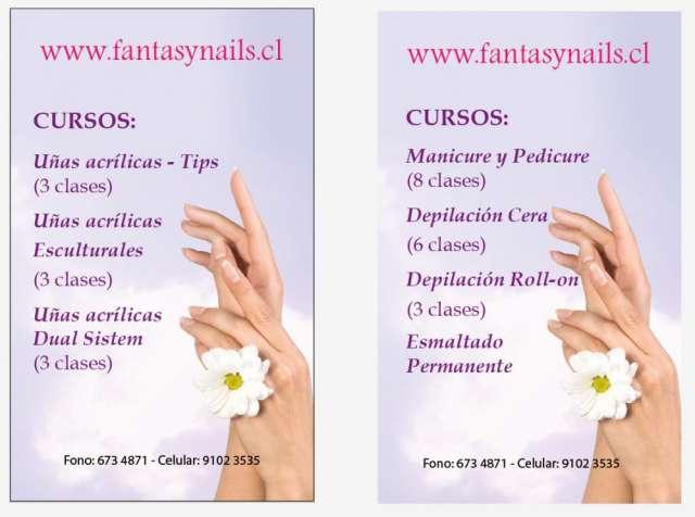 Cursos de uñas acrìlicas ,manicure , depilaciòn