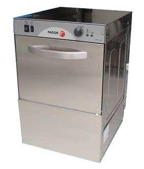 Máquina lavavasos de carga frontal lvc-21