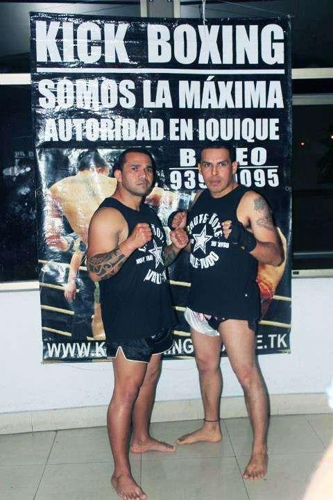 Única academia federada de kickboxing en iquique