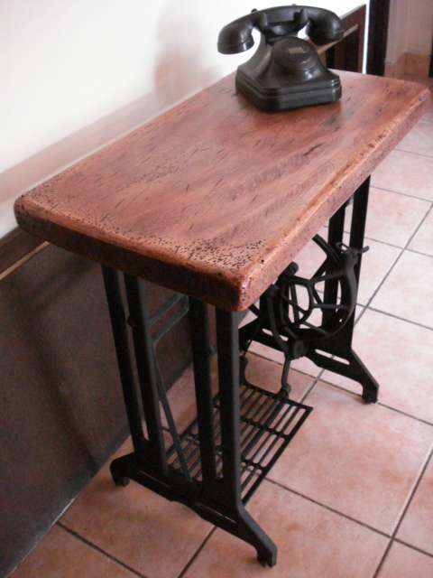 Mesa maquina de coser best en el modelo siguiente la base de la mesa es la de dos mquinas de - Mesa maquina coser singer ...