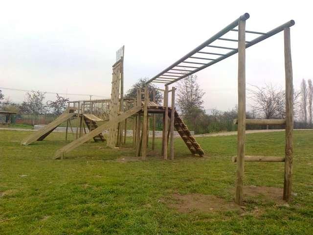 Juegos infantiles en madera impregnada en Libertador - Decoración y ...