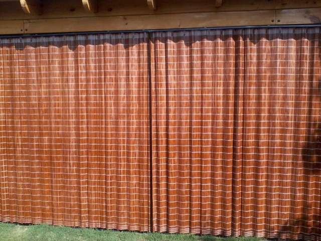 Cortinas de madera tipo hangaroa fabricamos reparamos