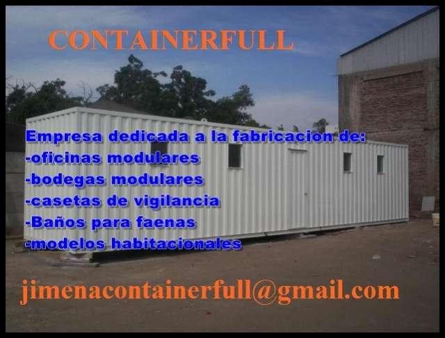 Container full fabrica de ventas de container modulares