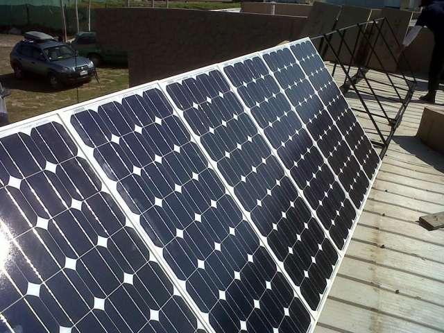 Energía solar, sistema on grid, conectado a la red