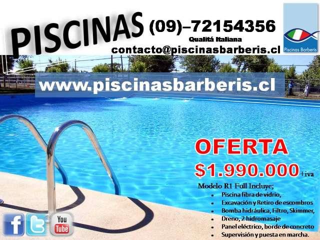 piscinas de fibra de vidrio toboganes en santiago otros servicios 420613 - Piscinas De Fibra De Vidrio
