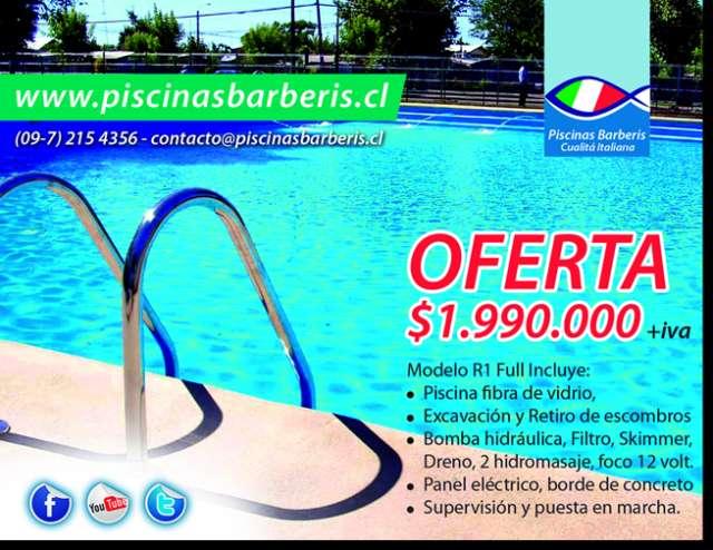 piscinas de fibra de vidrio toboganes - Piscinas De Fibra Precios