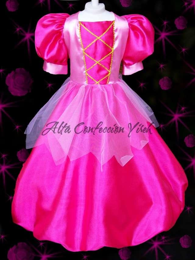 Vestido Disfraz Princesa A Pedido Nuevos Y Lindos Tambien
