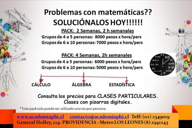 Problemas con matemáticas?? soluciónalos hoy!!!