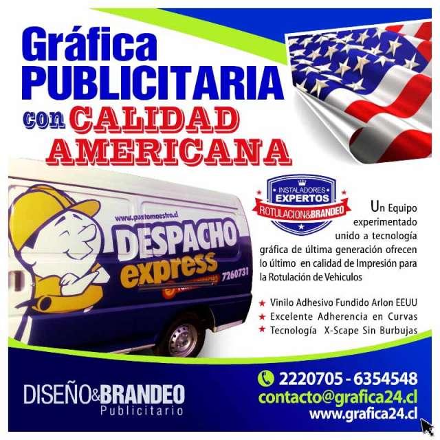 Publicidad autoadhesiva & branding de vehiculos