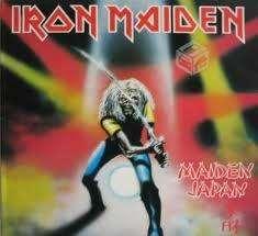 Vinilo maiden japan iron maiden 1981
