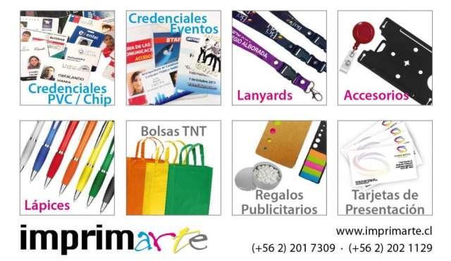 Credenciales, accesorios, bolsas ecologicas tnt