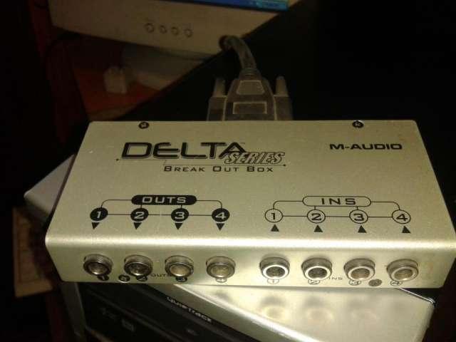 Tarjeta m-audio delta 44 perfecto estado! y buen precio!