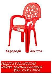 20 sillitas infantiles + meson x $20.000