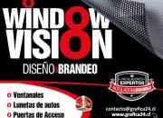 PUBLICIDAD AUTOADHESIVA PARA AUTOS CON WINDOW VISION