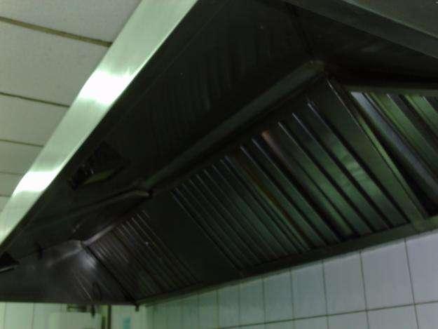 Limpieza de campanas de cocinas ductos y extractores