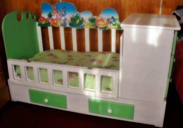 Vendo hermosa cuna para niño (usada) en Peñaflor - Accesorios de ...