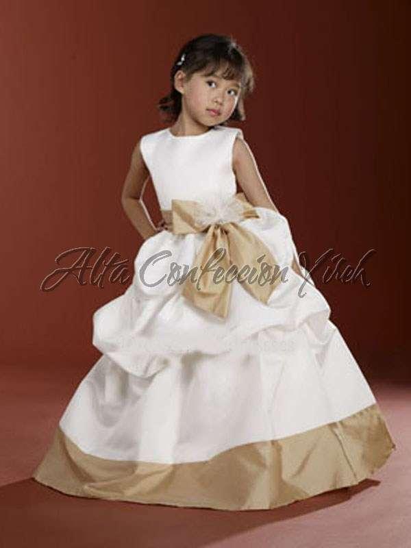 Vestidos De Paje Matrimonio Para Niña Gala Y Fiesta En