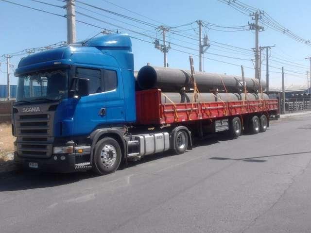 Transporte cama baja, ramplas, camiones