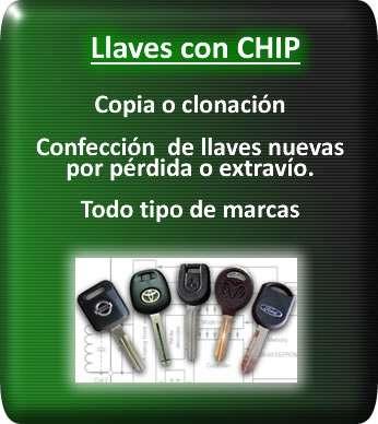 Programación y copia de llave con chip