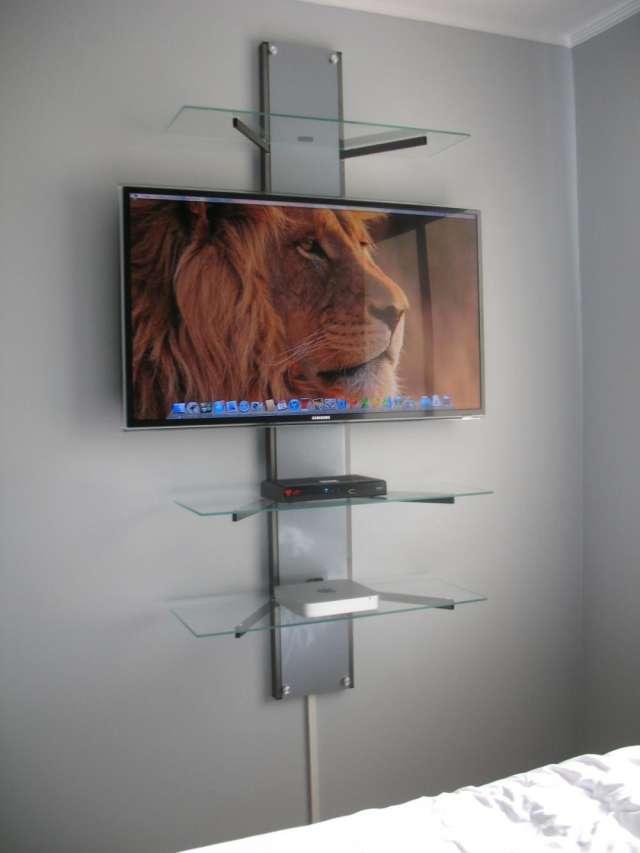Modernos Racks Y Soportes Para Tv Lcd  Led  Dise U00f1os Personalizables En Santiago