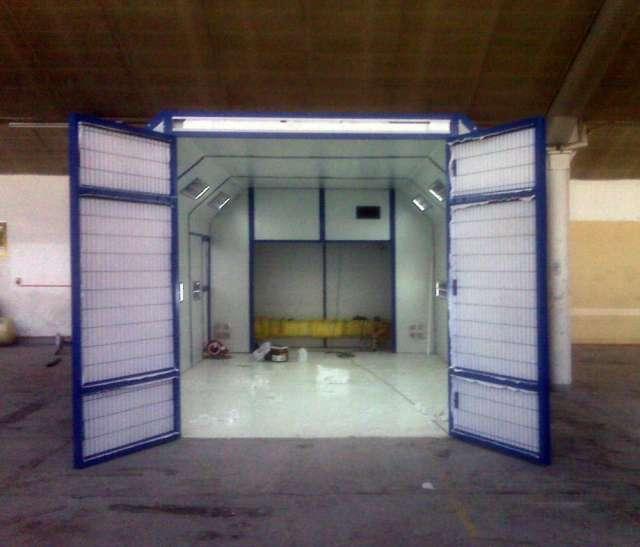 Cabinas de pintura para carrocería para empresas o talleres,