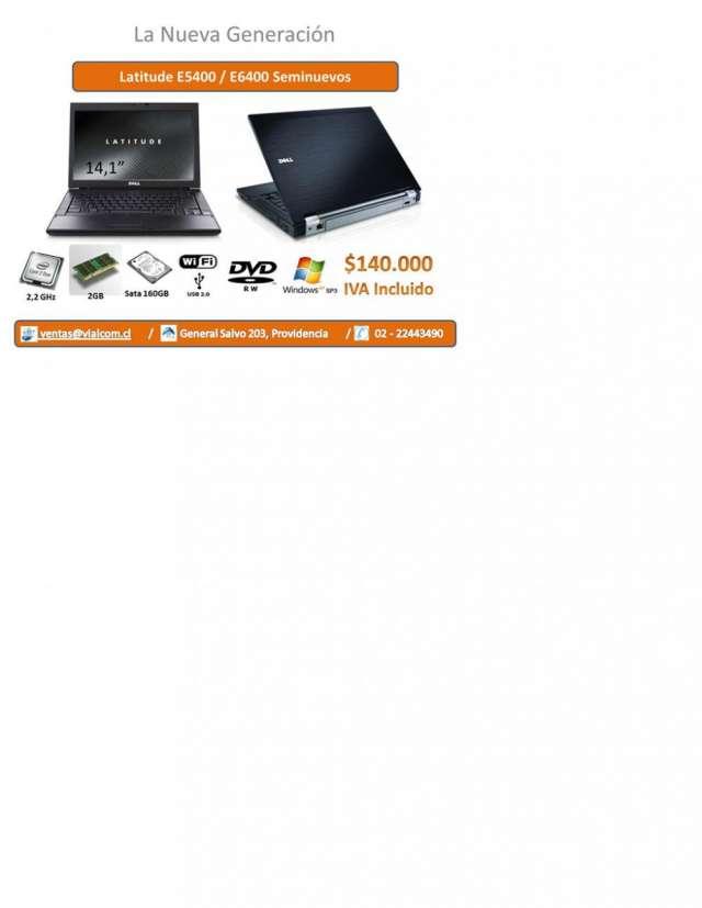 Dell notebook latitude e6400 140mil