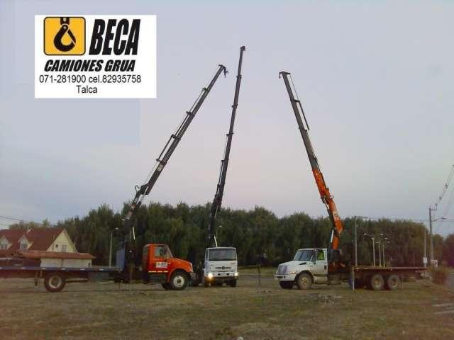 Servicio camiones pluma talca 82935758