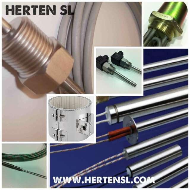 Fabricacion de resistencias electricas tipo cartucho e inmersion