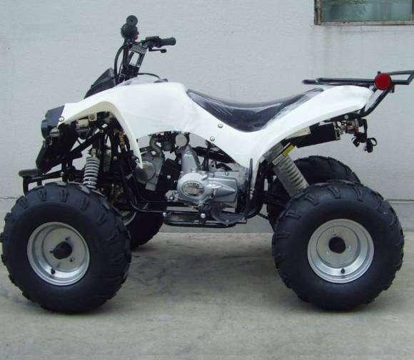 Regalo moto 4 ruedas todo terreno atv 125cc modelo big adulto especial para campo playa cerro