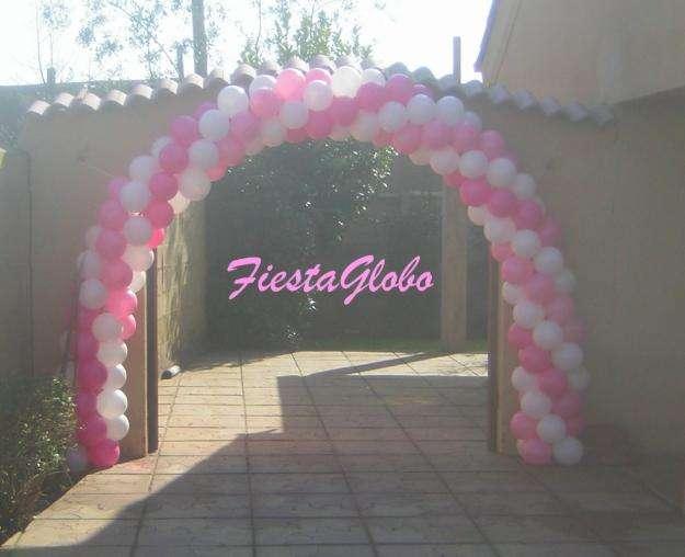 Decoración con globos para fiestas infantiles, 15 años, bautizos