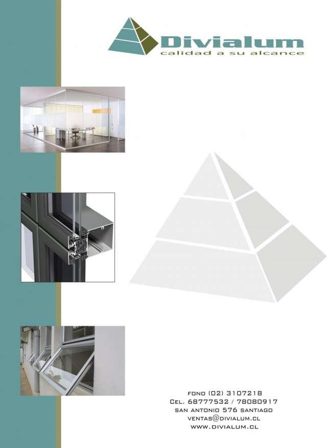 Ventanas de aluminio- cierres de oficinas