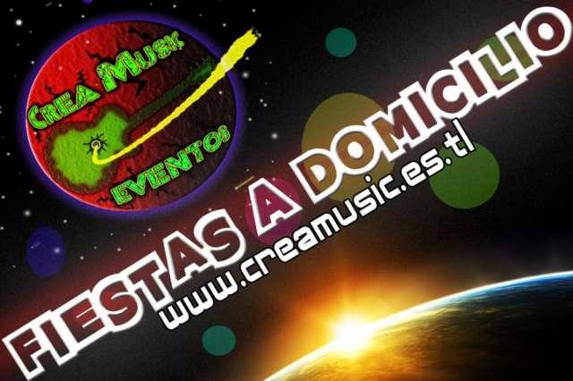 Fiestas eventos a domiclio ( www.creamusic.es.tl )