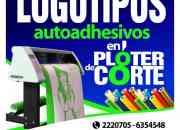 Grafica Autoadhesiva Publicidad Window vision y Empavonados