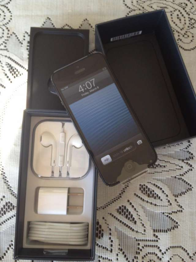 Apple iphone 5 ultimo model con 64gb
