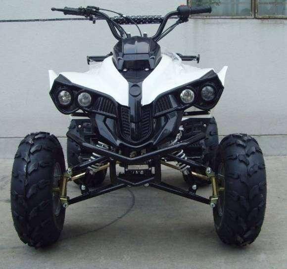 Espectacular moto atv cuatro ruedas