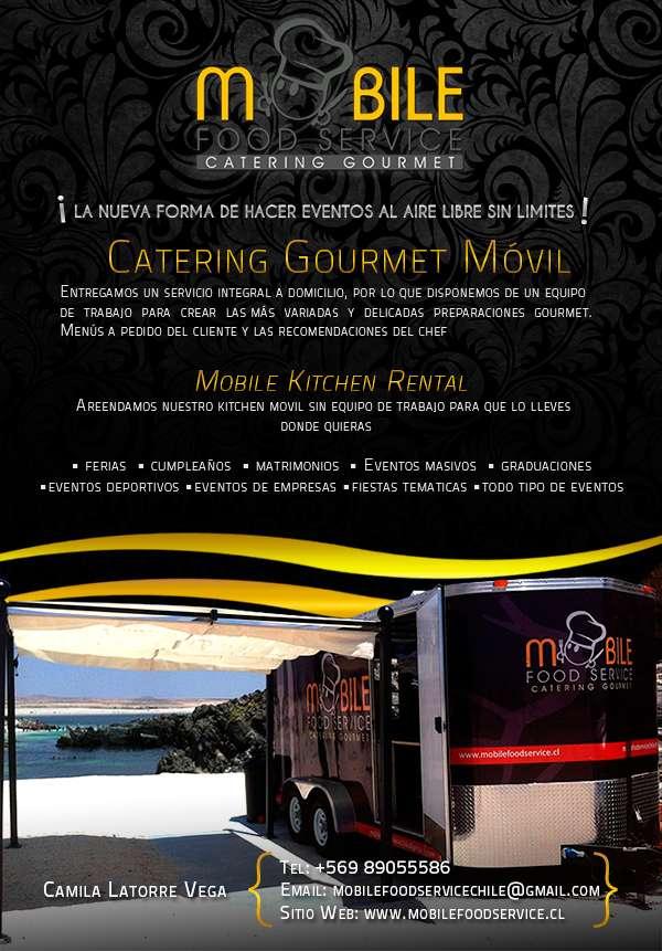 Cocina móvil para eventos ... banquetería gourmet y rentals