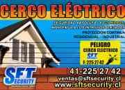 Alarmas, cerco eléctrico y cámaras de seguridad