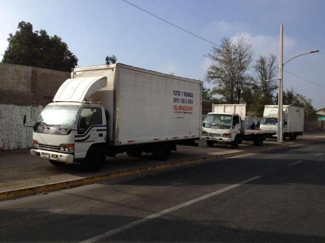 Camión rampla arriendo fletes a todo el país 09-8243106 ? puente alto
