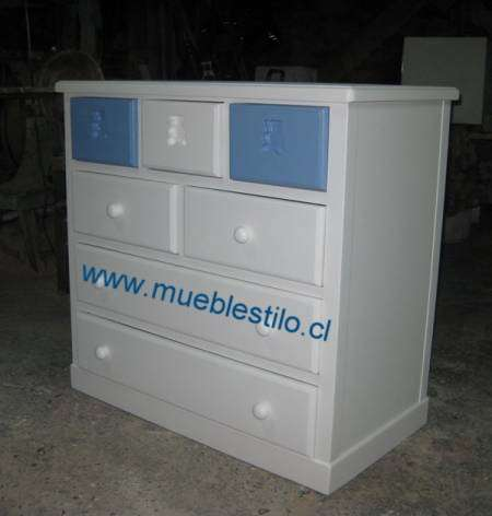 Muebles de madera, para bebes, cunas, cajoneras, a pedido en ...