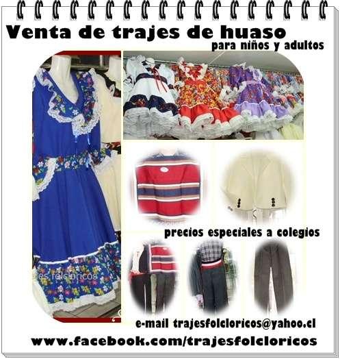 Trajes folcloricos: vendo trajes de huaso y de huasita