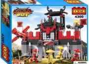 Jugete tipo lego Fortaleza Ninja Jugete tipo lego Fortaleza Ninja