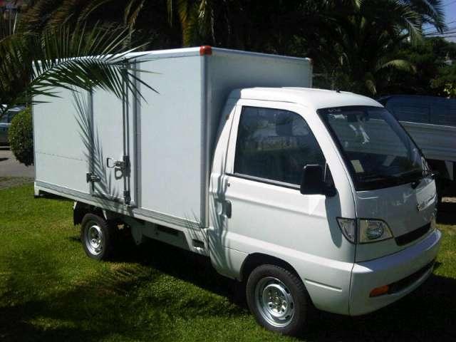 Hafei ruiyi cargo box camioneta furgón nueva
