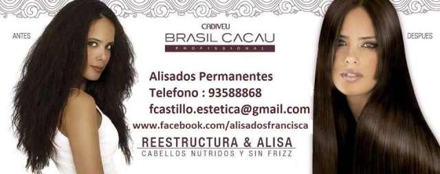 Alisado permanente brasil cacau oferta