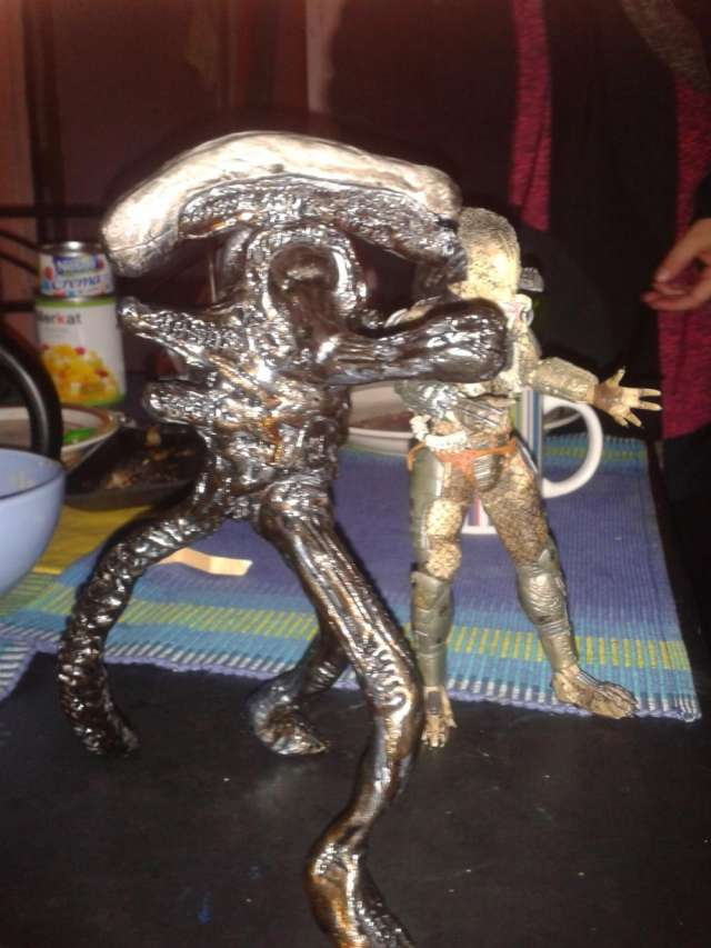 Alien embalados 30cm 2013 de coleccion
