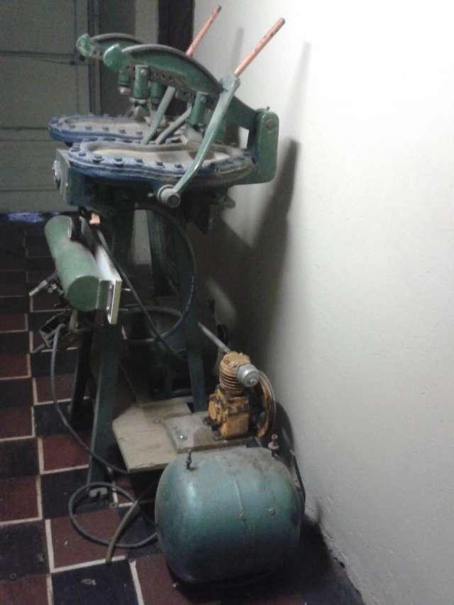 Venta de maquina entapadora para la fabricación de calzado
