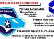 especialistas en pinturas automotriz y habitacional santiago centro