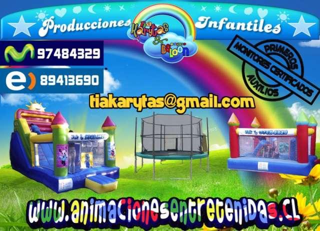 Animaciones Infantiles Rancagua Arriendo De Juegos Inflables En